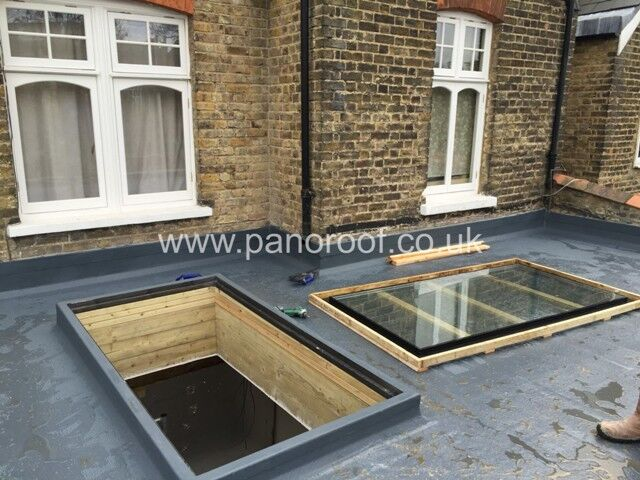Prepared opening showing the Kerb fully encapsulated