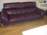 DFS Leather sofa excellent condition £300.00