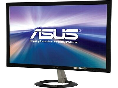 "شاشة ليد  ASUS VX238H Black 23"" 1ms (GTG) HDMI Widescreen LED Backlight LCD Monitor"