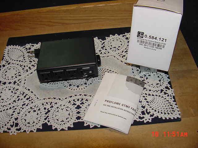 SIT Proflame 0.584.121 Fan Control Module (FCM) 0584121, Regency 911-030 NEW!