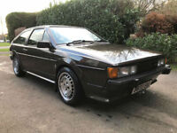 1984 Volkswagen Scirocco 1.8i Storm - Brown with Tan leather - 164k miles