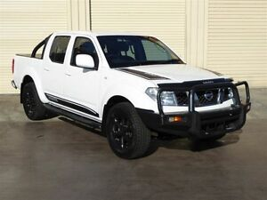 2011 Nissan Navara D40 ST (4x4) White 6 Speed Manual Dual Cab Pick-up Strathpine Pine Rivers Area Preview