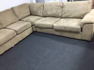 L Shape Lounge / Sofa - Bed / Can Deliver Ryde Ryde Area Preview