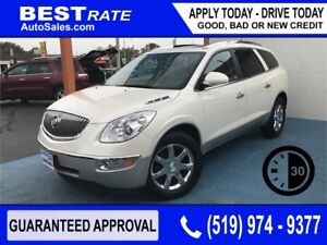 BUICK ENCLAVE CXL - APPROVED IN 30 MINS - REBUILD YOUR CREDIT!