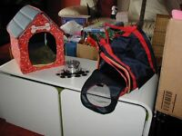 Build a Bear accessories, job lot including Beds, Kennels and Wardrobe