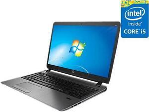 "HP ProBook 450 G2 Core i5-5200U 2.2Ghz 8GB 500GB DVDRW WiFi BT CAM15.6"" 1366 x 768, HD5500"