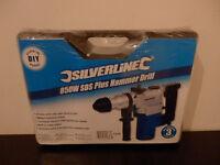 Silverline 850W SDS Plus Hammer Drill