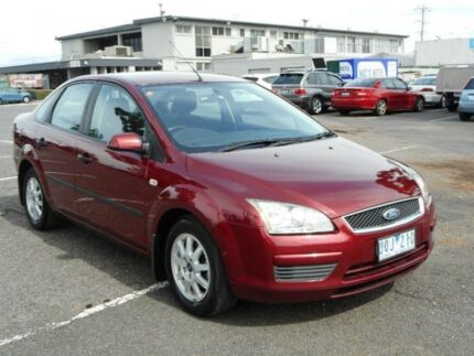 2006 Ford Focus LS CL Burgundy 4 Speed Automatic Hatchback Maidstone Maribyrnong Area Preview