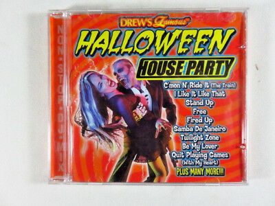 Halloween Party Dj Mix (Halloween House Party by Drew's Famous (CD, Sep-1998, Non Stop DJ)