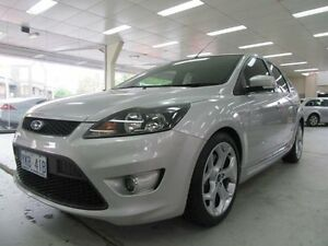2008 Ford Focus LV XR5 Turbo Silver 6 Speed Manual Hatchback Fyshwick South Canberra Preview