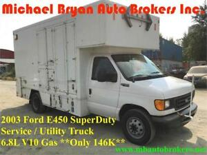 2003 FORD E450 SERVICE TRUCK / UTILITY TRUCK *ONLY 146K* RARE