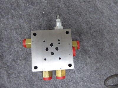 Sun Hydraulic Block Manifold Valve A312 04g A12 185-3504