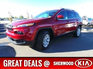 2016 Jeep Cherokee 4WD NORTH EDITION Accident Free,  Back-up Cam