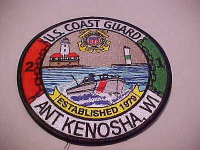 UNITED STATES COAST GUARD ANT KENOSHA WISCONSIN PATCH