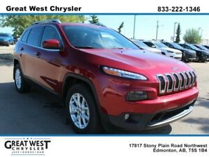 2017 Jeep Cherokee BACKUP CAM**NAV READY**PANO ROOF**POWER SEATS