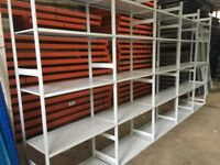 JOB LOT LINK INDUSTRIAL SHELVING! MUST GO!!( PALLET RACKING , STORAGE)