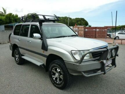 1998 Toyota Landcruiser FZJ105R GXL Silver Automatic Wagon Rosslea Townsville City Preview