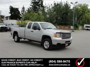 2013 GMC SIERRA 2500HD SLE EXT CAB LONG BOX 4X4