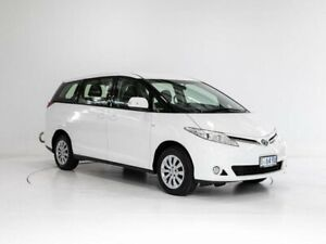 2014 Toyota Tarago ACR50R MY13 GLi White 7 Speed Constant Variable Wagon Glenorchy Glenorchy Area Preview