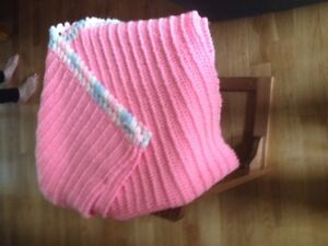CROCHETED BABY BLANKETS NEW