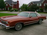 One hour for Dad - Looking for 1975 Monte Carlo
