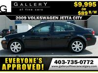 2009 Volkswagen Jetta CITY $89 bi-weekly APPLY NOW DRIVE NOW