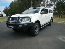 2015 Nissan Navara D23 ST-X White Diamond 7 Speed Sports Automatic Utility Young Young Area Preview