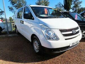 2008 Hyundai iLOAD TQ-V White 5 Speed Sports Automatic Van Minchinbury Blacktown Area Preview