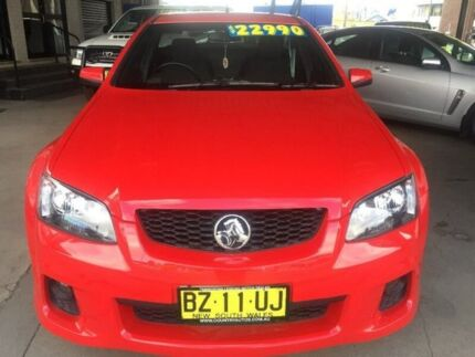 2011 Holden Ute VE II SV6 Red 6 Speed Manual Utility