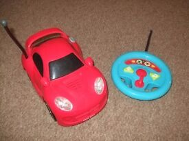 Red Radio Controlled Car