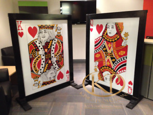 Decoration Items, Casino Decorations, Themed Party, Red Carpets
