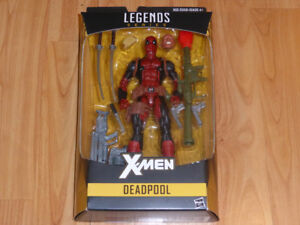 MARVEL LEGENDS DEADPOOL X-MEN INFINITE JUGGERNAUT SERIES MISB