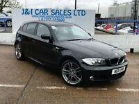 BMW 1 SERIES 2.0 116I PERFORMANCE EDITION 5d 121 BHP A LOW PRIC (black) 2011