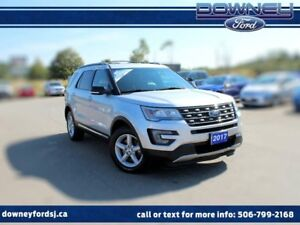 2017 Ford Explorer XLT Leather AWD Heated Seats Backup Cam