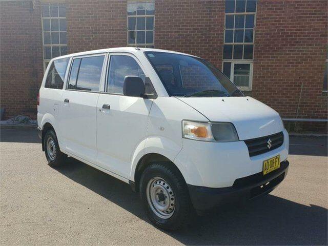 9f3dbe77d9 2007 Suzuki APV White Manual Van
