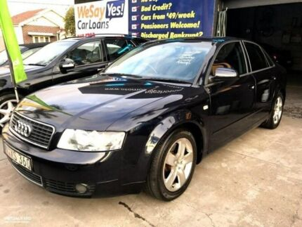2002 Audi A4 Black Manual Sedan Croydon Burwood Area Preview