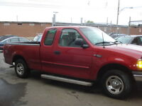 2001 Ford F-150 Rouge Camionnette