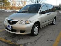 2003 Mazda MPV,CERTIFY,E-TEST,&3 YEARS P-T WARRANTY AVAILABLE