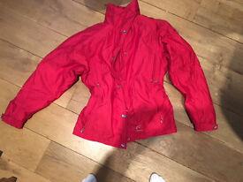 Fusalp Ladies Ski Jacket (red), size 40