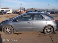 HONDA CIVIC 2007 BREAKING FOR SPARES TEL 07814971951 HAVE FEW IN STOCK PLEASE CALL