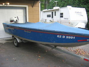 Princecraft Starfish boat and 25 hp Johnson motor for sale