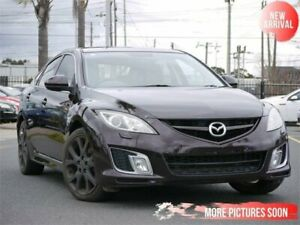 2008 Mazda 6 GH1051 Luxury Sports Maroon 6 Speed Manual Hatchback Cheltenham Kingston Area Preview