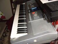 yamaha psr ki keyboard karaoke features