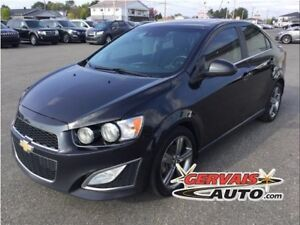 Chevrolet Sonic RS Cuir Toit Ouvrant MAGS 2015