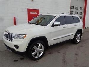 2012 Jeep Grand Cherokee Overland ~ 95,000kms ~ $28,999