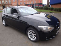 63 BMW 118D SE (BUSINESS MEDIA) 5 DOOR DIESEL £30 A YEAR ROAD TAX