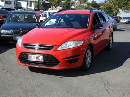 2011 Ford Mondeo MC LX PwrShift TDCi Red 6 Speed Sports Automatic Dual Clutch Wagon Moorooka Brisbane South West Preview
