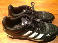 "Soulier crampons de football Adidas ""cleats"" 10,5US"