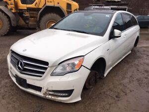 2011 Mercedes R350 just in for parts at Pic N Save!
