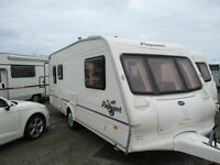 Bailey Pageant Auvergne Touring Caravan